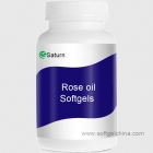 China Rose oil Softgels factory